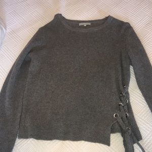 Tops - Gray Sweater - laju los angeles
